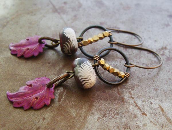 Earrings Everyday: Autumn Hoopla Earrings