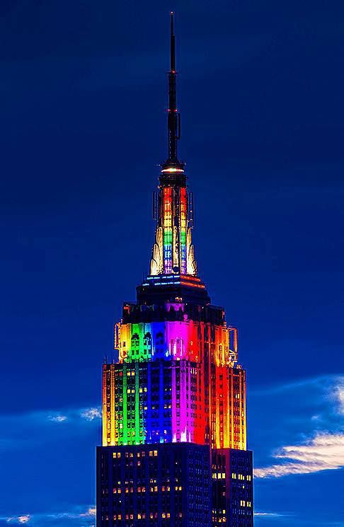 Art of Facts: Empire State Building Light Show