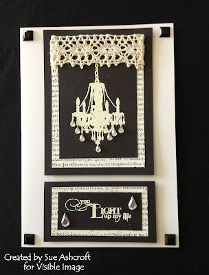 chandelier stamp sentiment stamps visible image