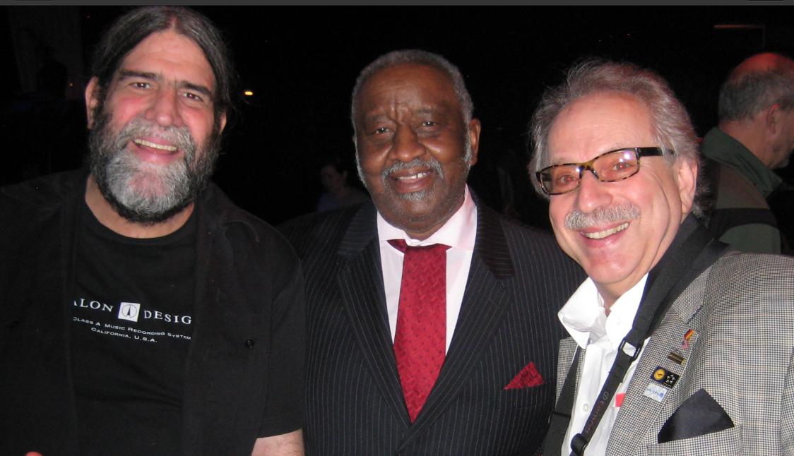with Joe Berger and Bernard Purdie at Roseland Ballroom