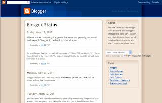 Estado de Blogger