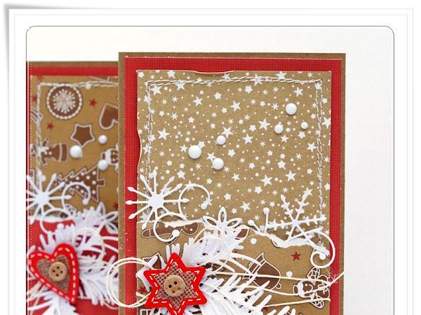 Gingerbread cards :) / Piernikowe kartki :)