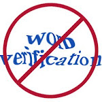 NO to Word verification!