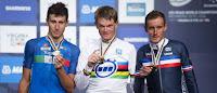 CICLISMO EN RUTA - Kiryienka consigue el oro en el Mundial de contrarreloj. Castroviejo se queda sin medalla pero da una plaza para Río 2016