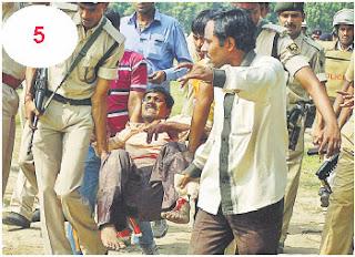 Patna Blast Pictures Live
