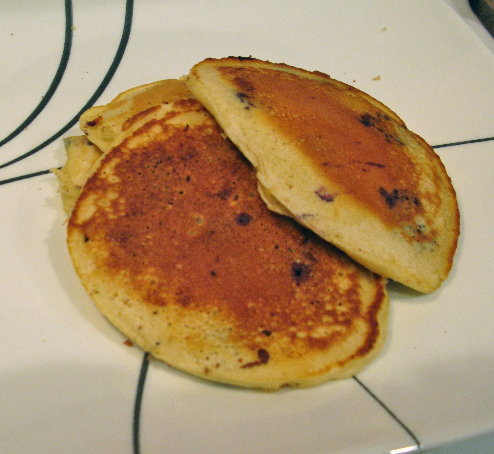 how to make simple pancakes with plain flour