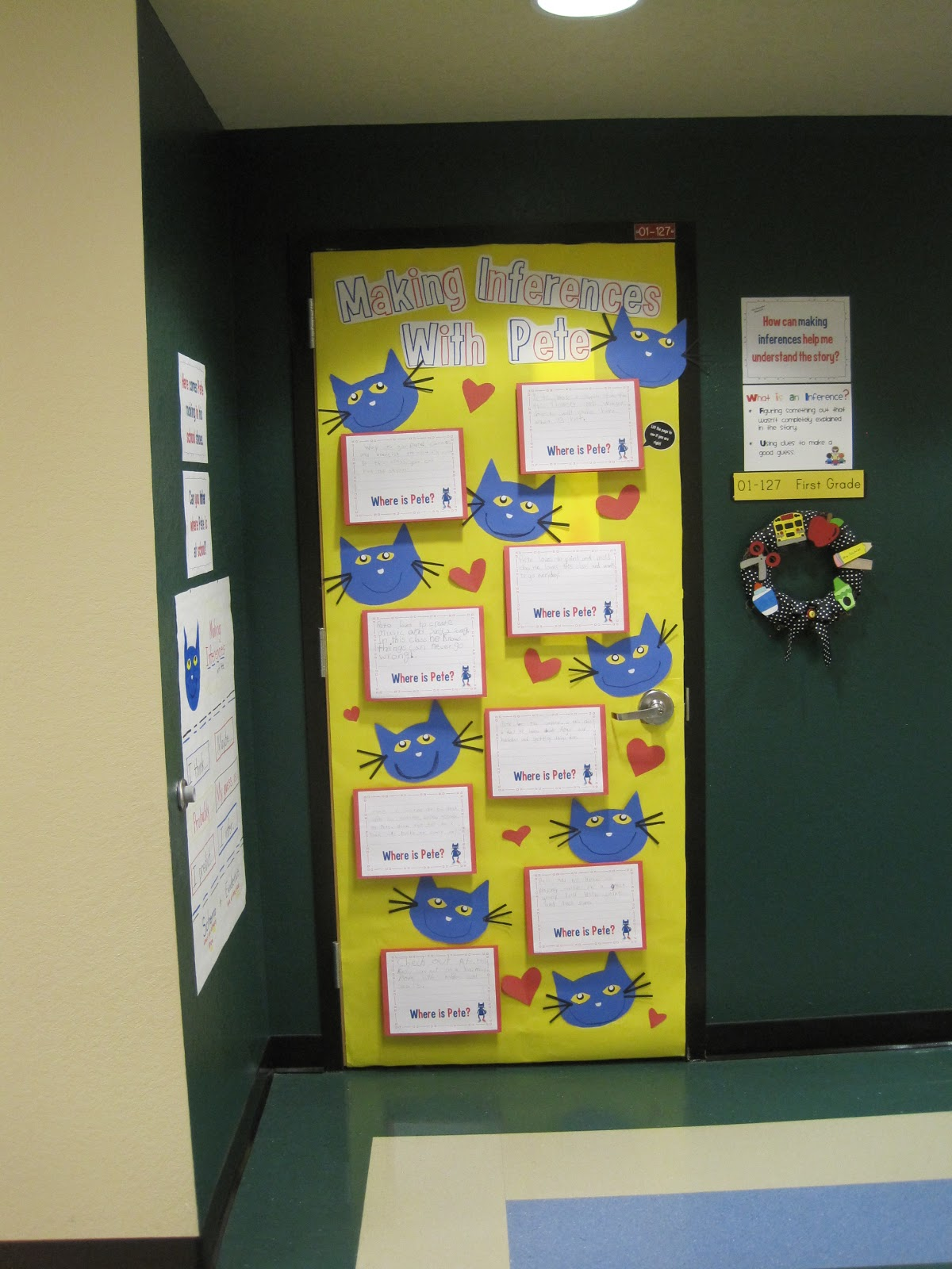 childrens books door decorations | just b.CAUSE