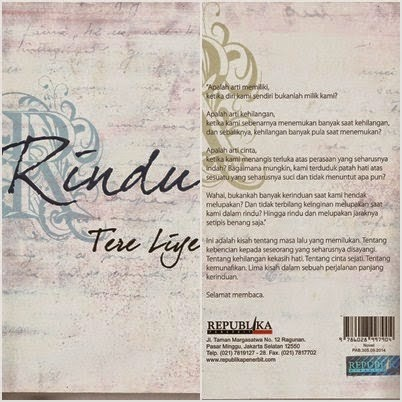 Novel Tere Liye Rindu Pdf - setermscom