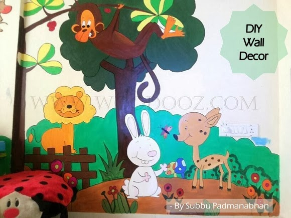 How to paint your kids room wall