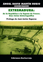 Novedad bibliogrfica: Extremadura: de la Repblica a la Espaa de Franco