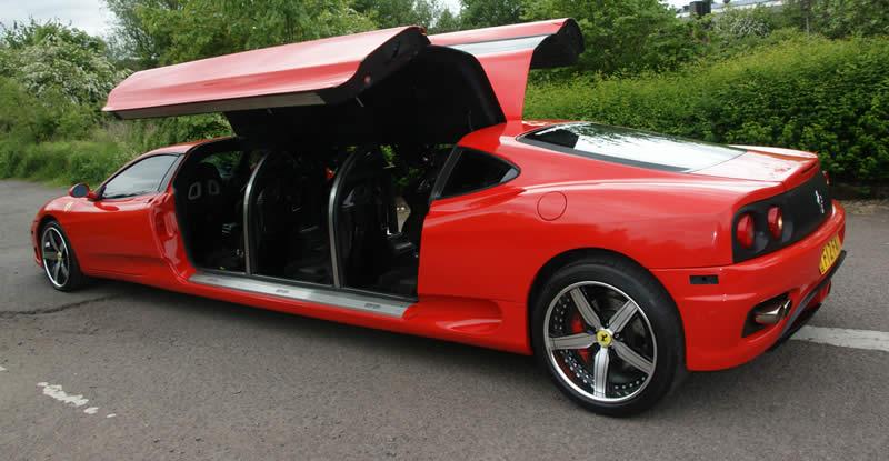Ferrari Limousine Review Cars News Review