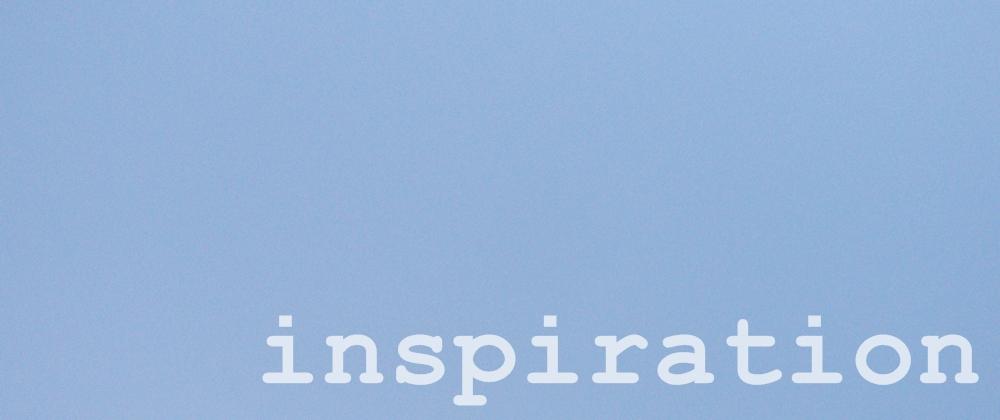 inspiracija kod bloganja