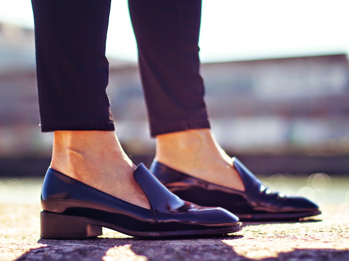 Types of shoes: Loafers - Tipos de zapatos: Mocasines