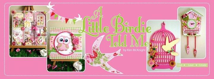 A little birdie told me.....