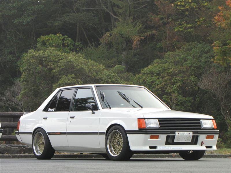 Mitsubishi Lancer II, sportowe samochody z lat 80, kultowe auta, zdjęcia