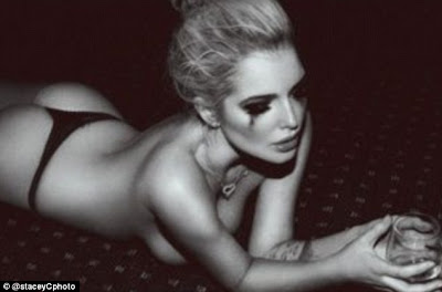 Helen Flanagan Naked in Photoshoot