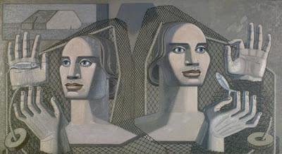 Maruja Mallo. Mensaje del mar, 1937.