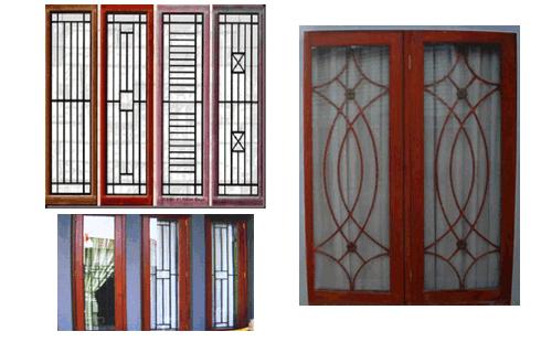 model│desain teralis jendela-pintu rumah minimalis