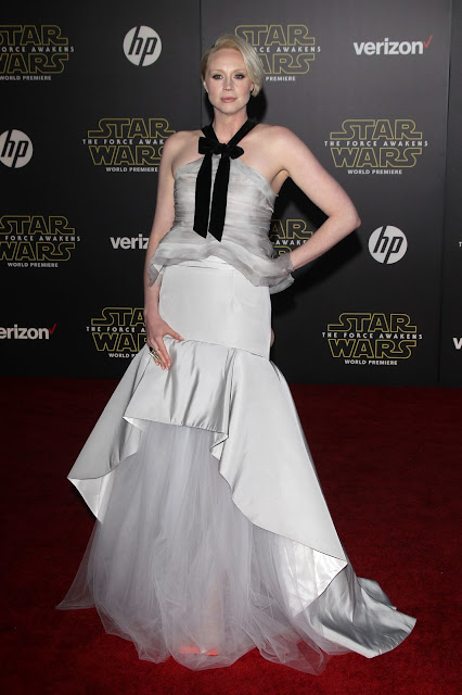 Actress, Model, @ Gwendoline Christie At Star Wars: Episode Vii – The Force Awakens Premiere In Hollywood