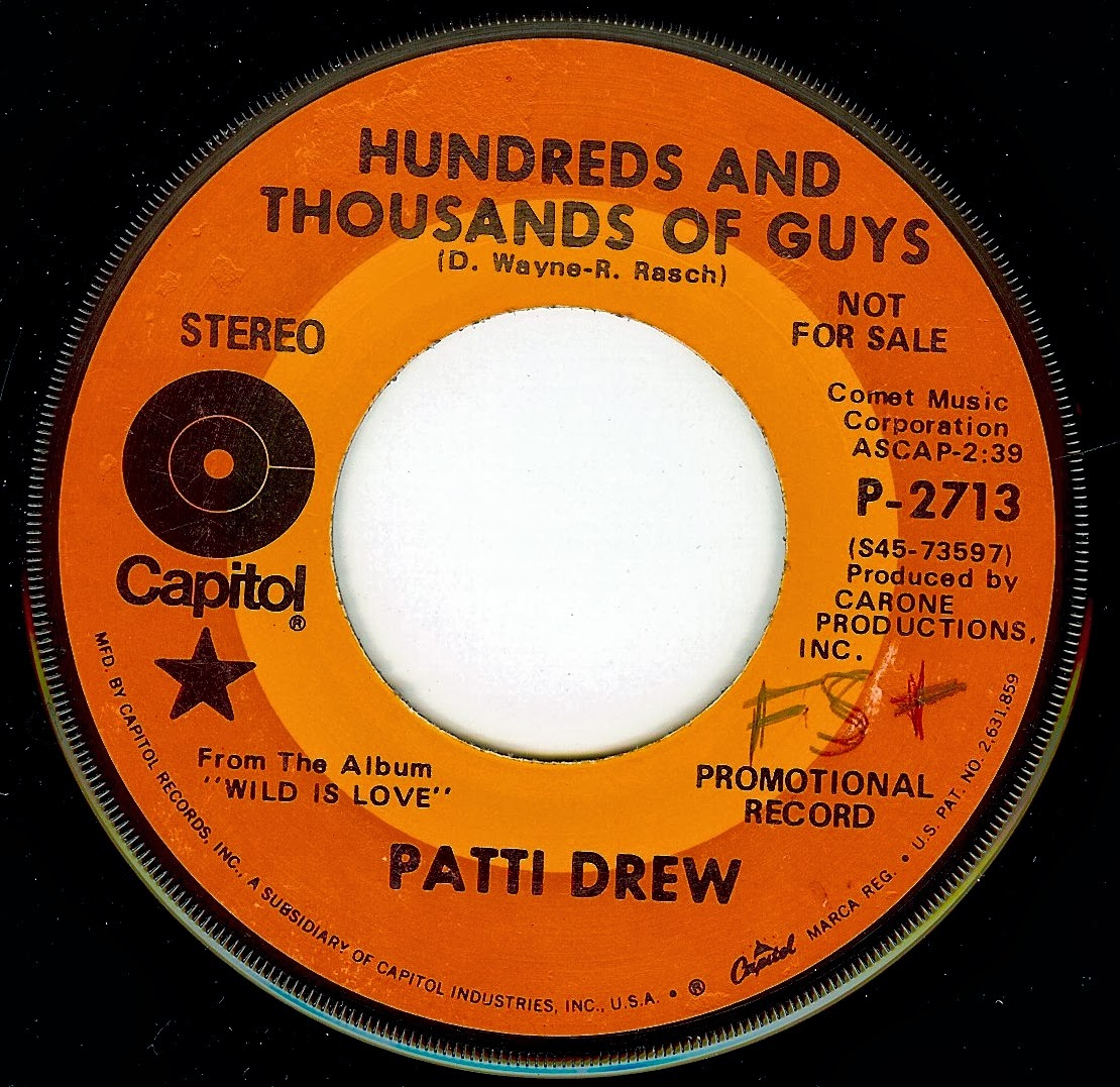Derek's Daily 45: PATTI DREW - HUNDREDS AND THOUSANDS OF GUYS