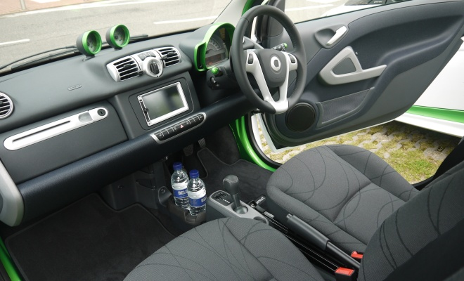 Smart ForTwo Electric Drive interior