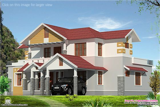 2500 sq-ft Kerala style house