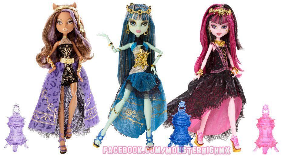 Nuevas muñecas Monster High 13 Deseos de Fiesta