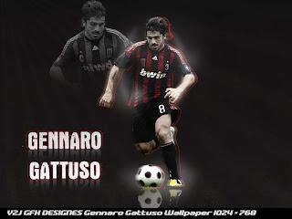 Gennaro Gattuso Ac Milan Wallpaper 2011 3