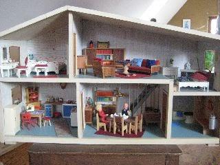 irmchensminiwelt mein 60er jahre lundby g teburg haus. Black Bedroom Furniture Sets. Home Design Ideas