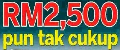 Gaji Permulaan RM2,500