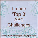 I am a TOP 3 at ABC Challenges