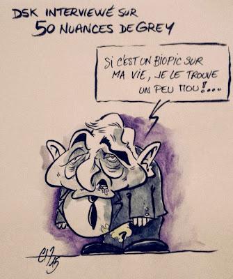 50 nuances de DSK ©Guillaume Néel