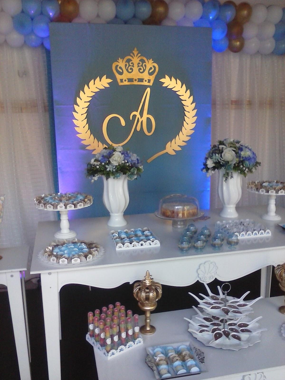 Doces Festas Festa Realeza (Coroa) # Decoração De Festa Infantil Realeza