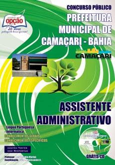 Apostila concurso público Prefeitura de Camaçari (Edital 2013)