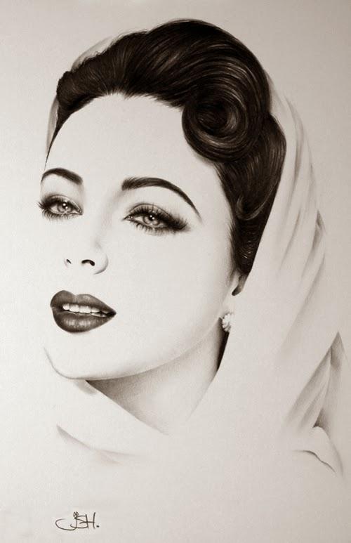 12-Artist-Ileana-Hunter-Minimalist-Hyper-Realistic-Portraits-www-designstack-co