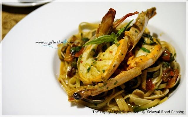 槟城美食   The Eighty Eight 餐厅/ 回味的法意菜料理 @ Kelawai Road