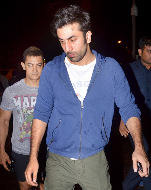 Aamir Khan and Ranbir Kapoor