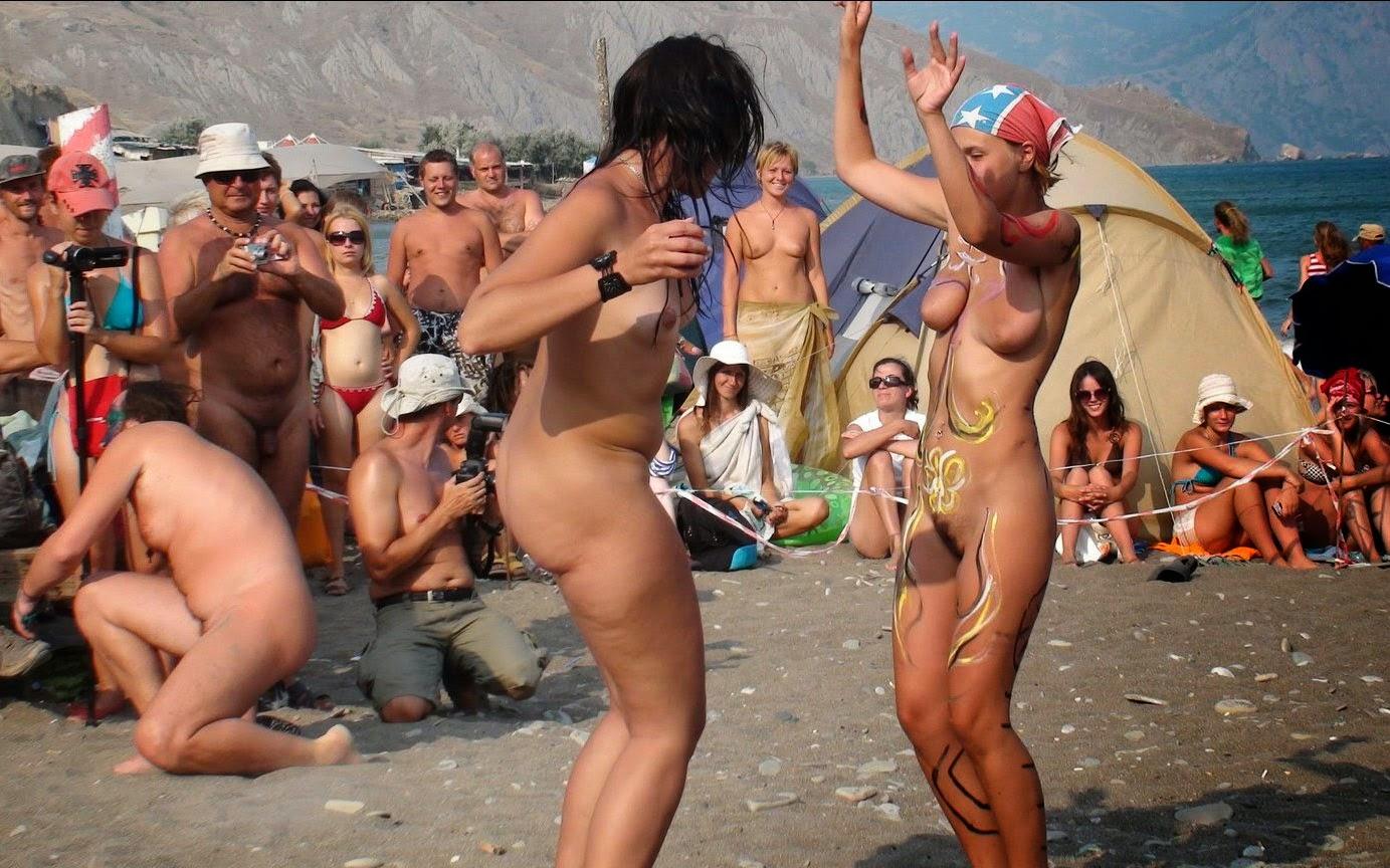 Фото пляжное нудистов 3 фотография