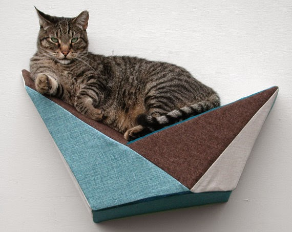 Cat Shelf Wall Bed | Exclusively Cats Veterinary Hospital, Waterford, MI
