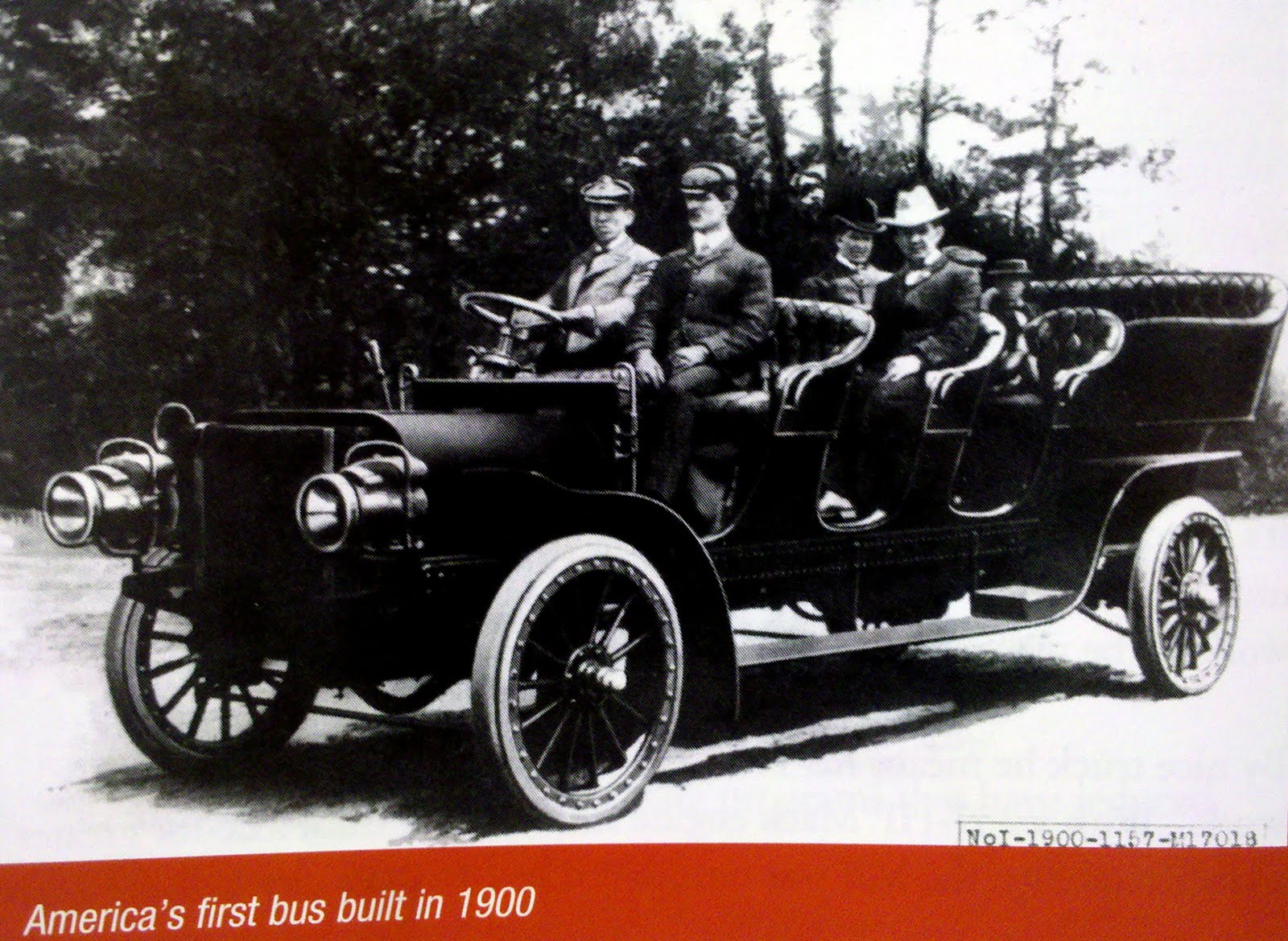 Just A Car Guy: The first bus in America, was built by Mack in 1900