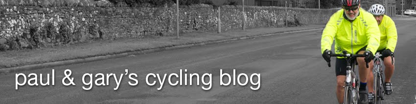 Paul and Gary's Cycling Blog