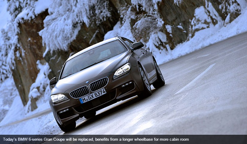 BMW 6-series (2017): new Six codenamed G15 is lighter, sportier