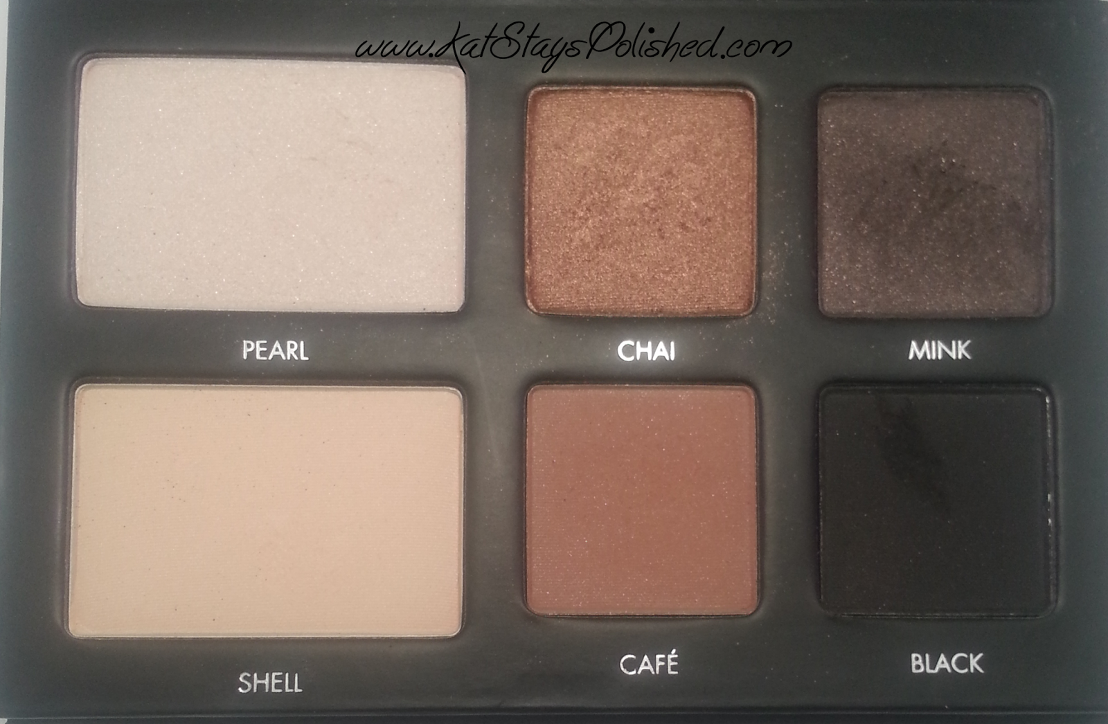 Lorac Pro To Go Palette - Matte and Shimmer Shadows