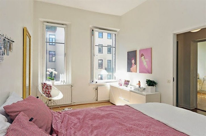 wall painting ideas for small apartments bedrooms