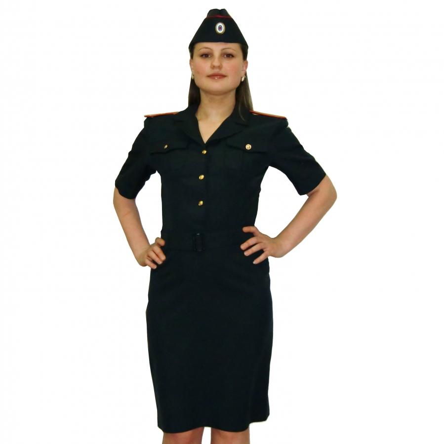 Женское платье сотрудников полиции
