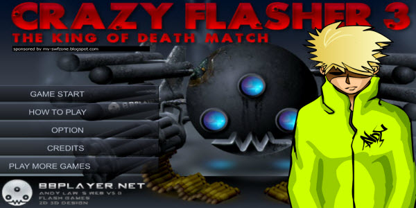 Andy Law Game. MY-SWFzone, Game Andy Law Crazy Flasher 3