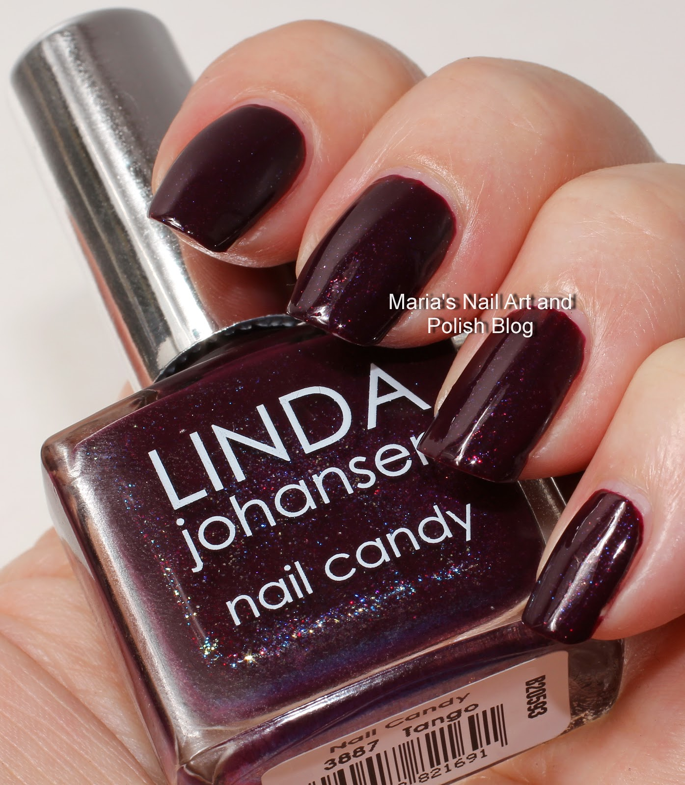 Marias Nail Art And Polish Blog Flushed With Stripes And: Marias Nail Art And Polish Blog: Linda Johansen Tango Swatches