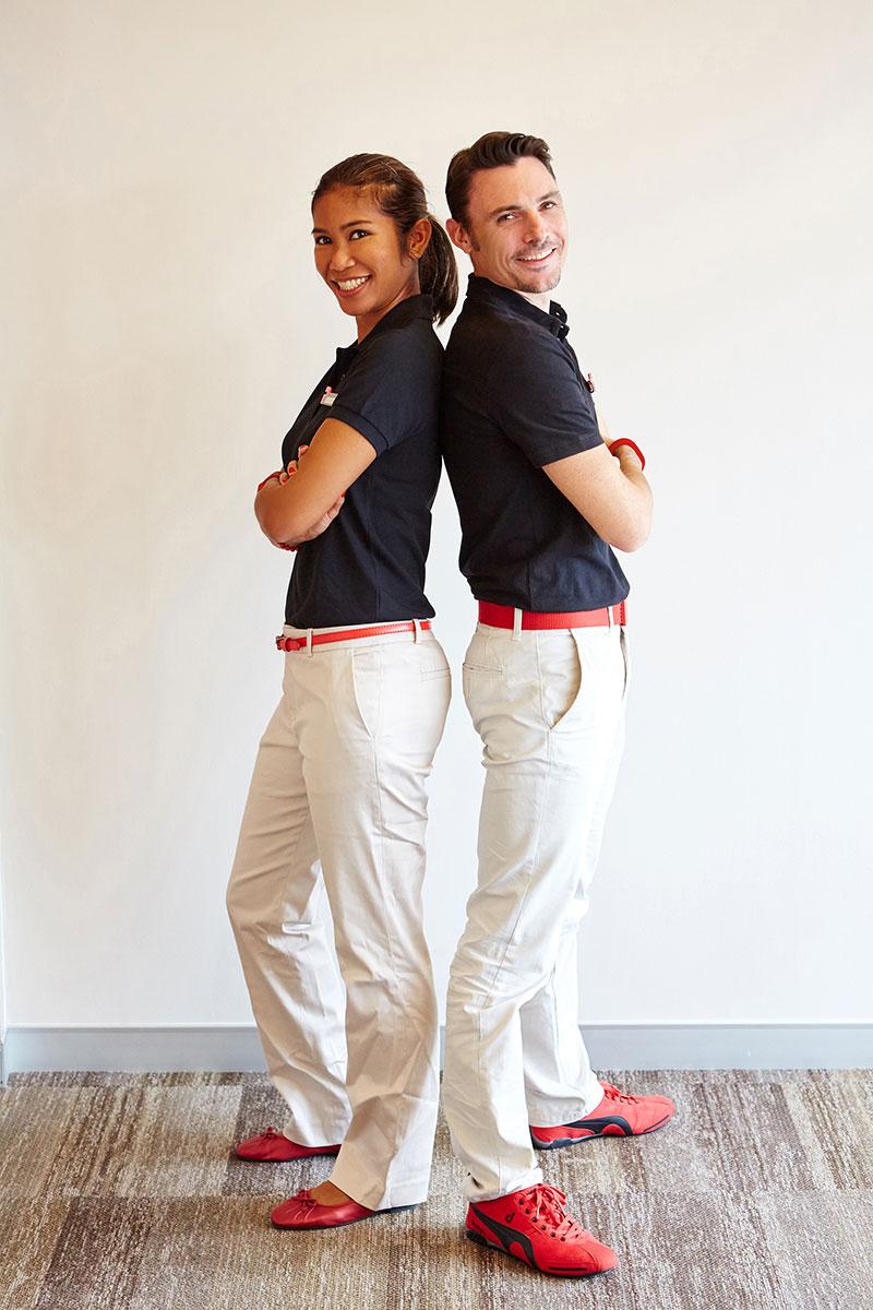 For urban women asia 39 s experiential lifestyle travel for Spa uniform singapore
