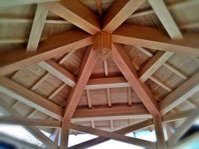 ... The Western Common Rafter Framing Approach Using Common Rafters And  Possibly Rafter Struts. Hereu0027s One Example Using A Common Rafter Supported  Roof, ...