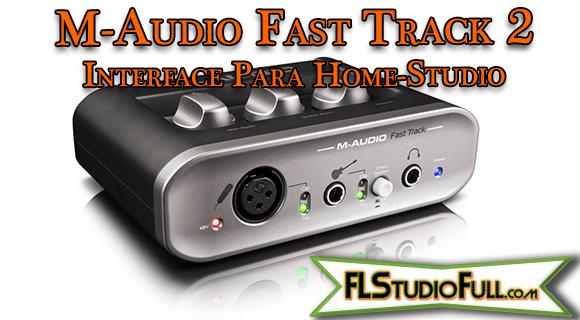M-Audio Fast Track 2 - Interface Para Home-Studio